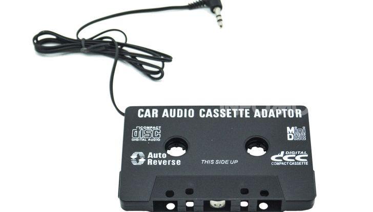 adattatore audio cassette