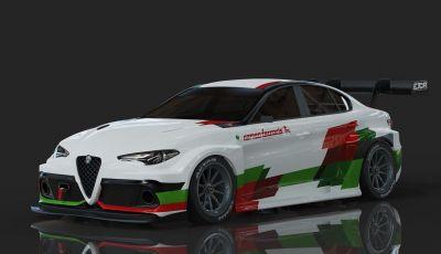 Alfa Romeo Giulia: versione elettrica ETCR di Romeo Ferraris