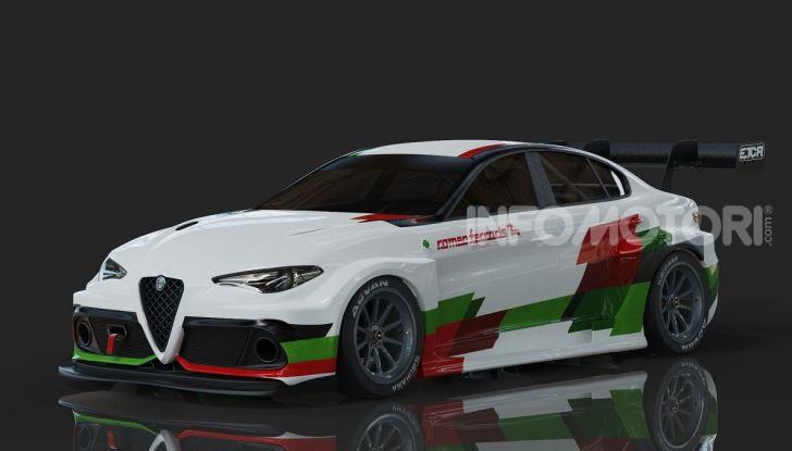 Alfa Romeo Giulia Romeo Ferraris ETCR