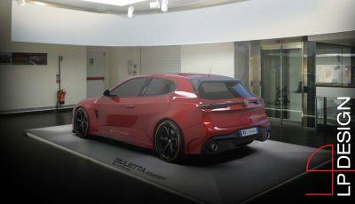 Alfa Romeo Giulietta QV: il concept by LP Design