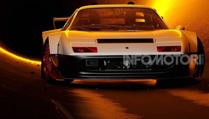 Ferrari 512 BB rendering