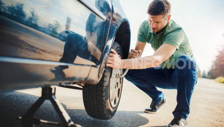 invertire pneumatici auto