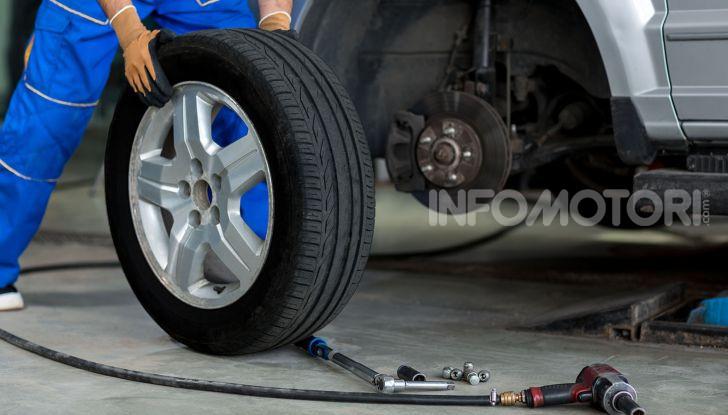 pneumatici auto gommista