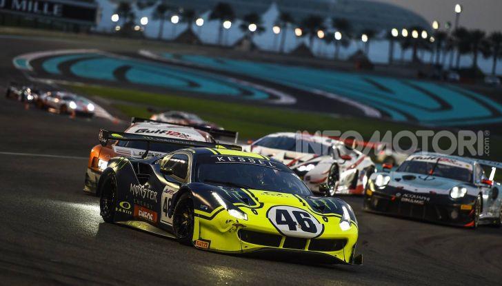 Valentino Rossi: podio alla 12 ore del Golfo con la Ferrari 488 GT3 - Foto 2 di 7