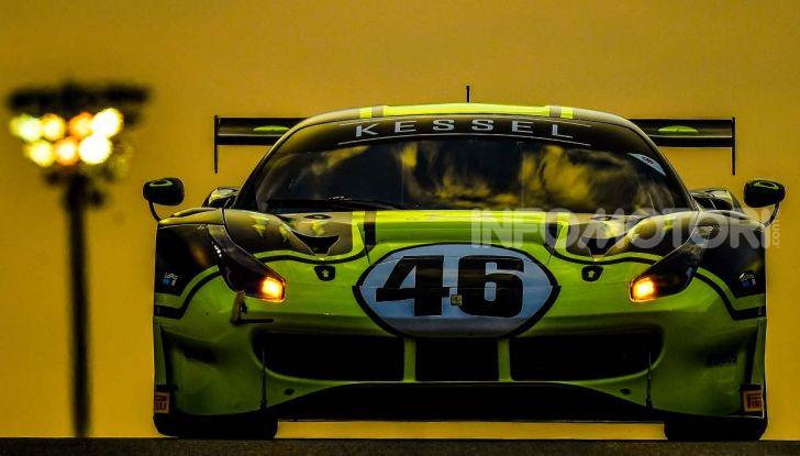 Valentino Rossi: podio alla 12 ore del Golfo con la Ferrari 488 GT3 - Foto 3 di 7