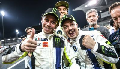 Valentino Rossi: podio alla 12 ore del Golfo con la Ferrari 488 GT3