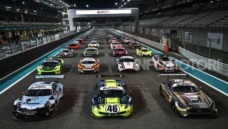 Valentino Rossi: podio alla 12 ore del Golfo con la Ferrari 488 GT3 - Foto 6 di 7