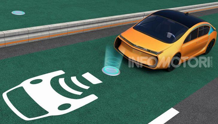 ricarica wireless automobili