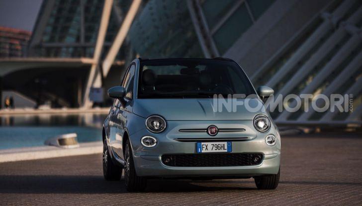 Fiat 500 Hybrid: l'ibrida debutta il 10 gennaio a 10.900 euro - Foto 3 di 21