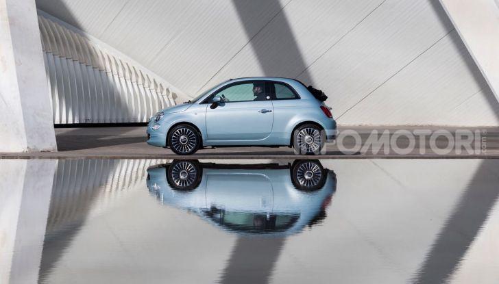 Fiat 500 Hybrid: l'ibrida debutta il 10 gennaio a 10.900 euro - Foto 5 di 21