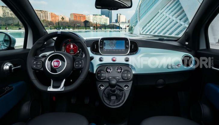 Fiat 500 Hybrid: l'ibrida debutta il 10 gennaio a 10.900 euro - Foto 13 di 21