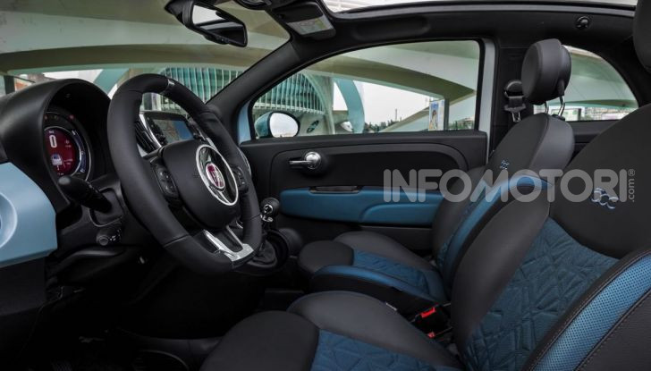 Fiat 500 Hybrid: l'ibrida debutta il 10 gennaio a 10.900 euro - Foto 11 di 21