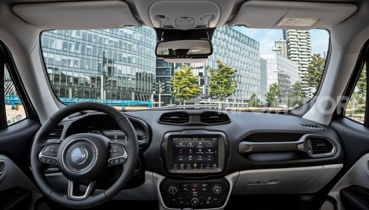 """Jeep Renegade e Compass ibride plug-in 4xe """"First Edition"""" - Foto 19 di 19"""