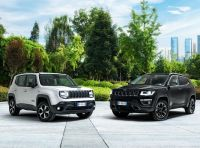 """Jeep Renegade e Compass ibride plug-in 4xe """"First Edition"""""""