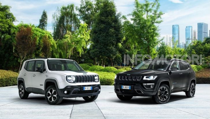 "Jeep Renegade e Compass ibride plug-in 4xe ""First Edition"" - Foto 1 di 19"