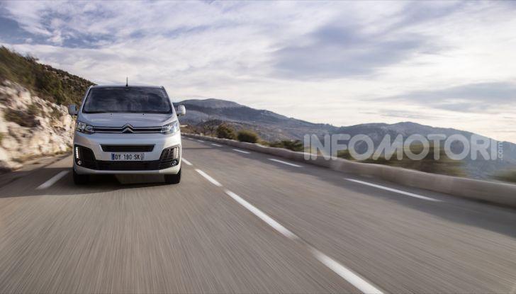 Citroen SpaceTourer: arriva la versione con motore diesel 2.0 - Foto 7 di 14