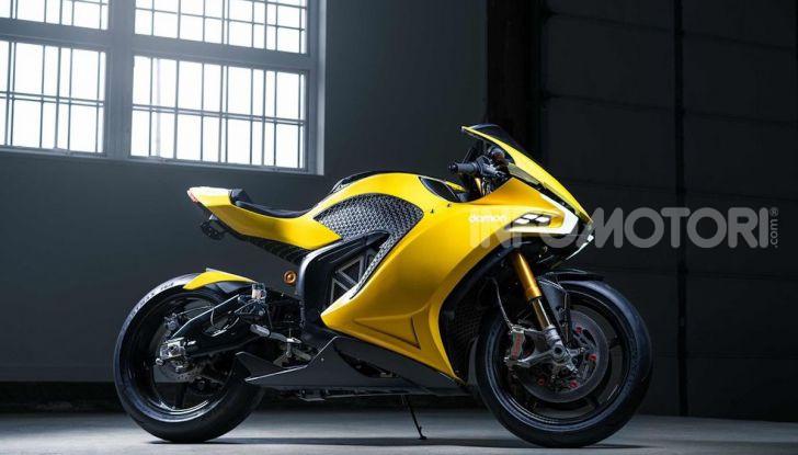 Damon Hypersport: la moto elettrica del futuro conquista il Ces 2020 - Foto 2 di 6