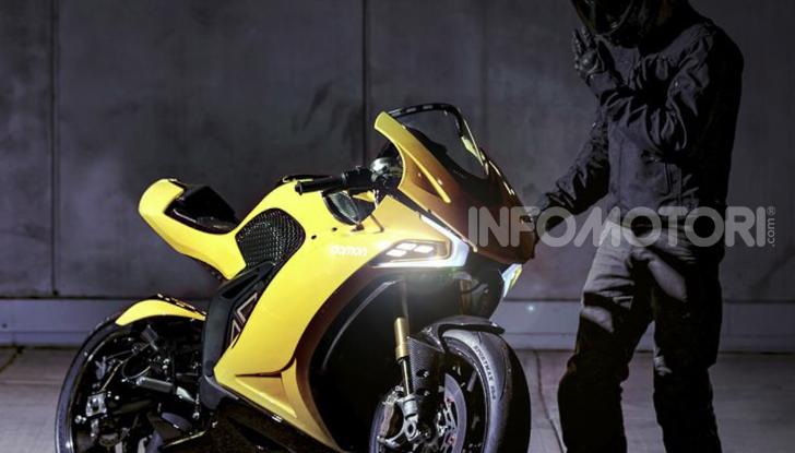 Damon Hypersport: la moto elettrica del futuro conquista il Ces 2020 - Foto 4 di 6