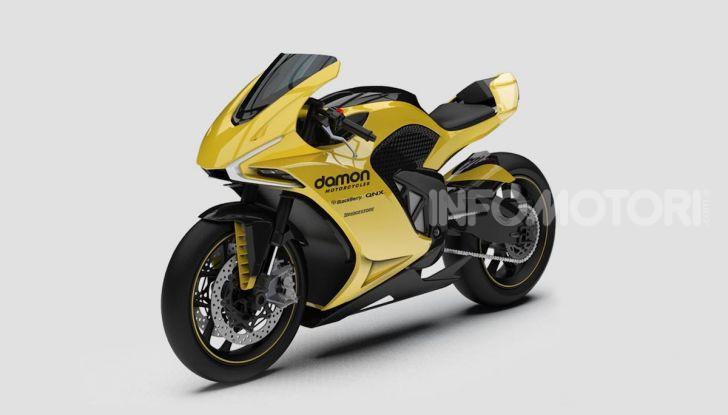 Damon Hypersport: la moto elettrica del futuro conquista il Ces 2020 - Foto 5 di 6