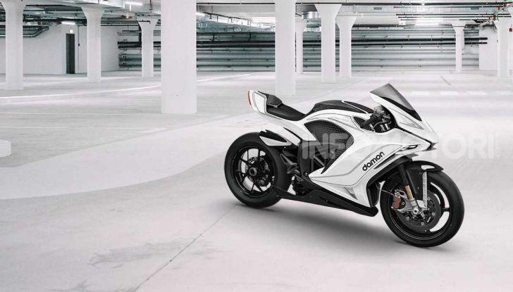 Damon Hypersport: la moto elettrica del futuro conquista il Ces 2020 - Foto 6 di 6