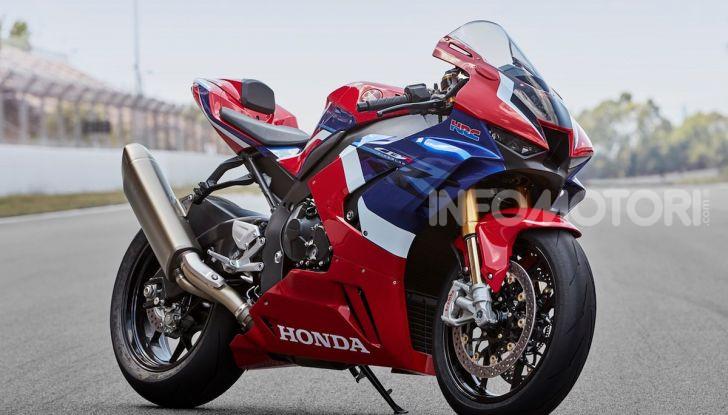 Nuova Honda CBR1000RR-R Fireblade 2020: ufficializzato il listino prezzi - Foto 1 di 7