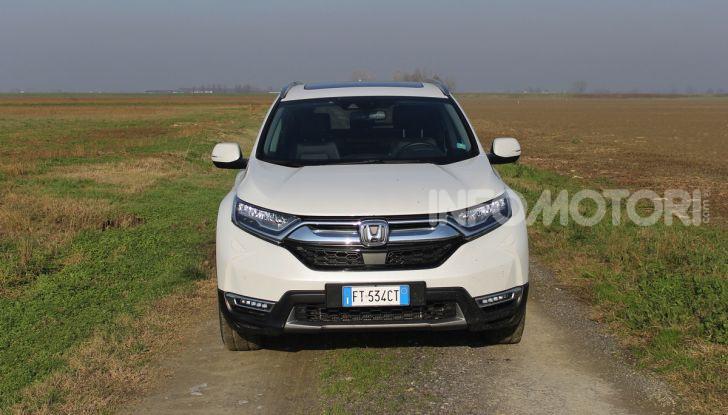 Prova nuovo Honda CR-V: il SUV compatto re dei consumi - Foto 2 di 30