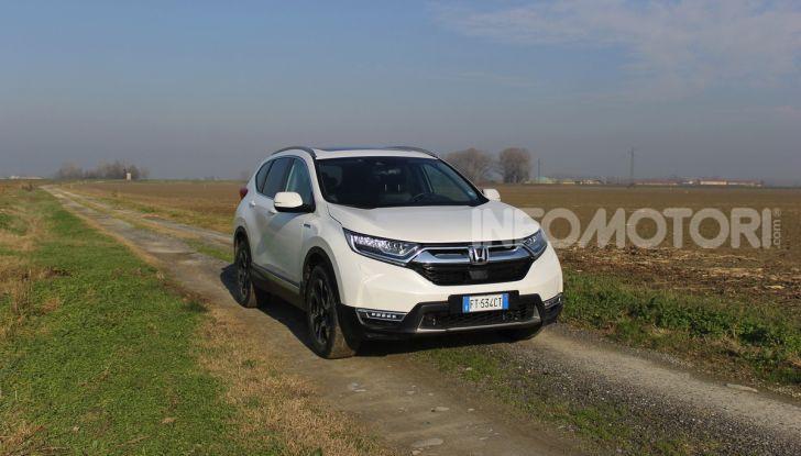 Honda CR-V Hybrid Prova su strada