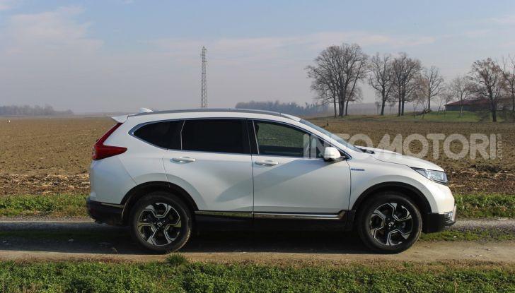 Prova nuovo Honda CR-V: il SUV compatto re dei consumi - Foto 4 di 30
