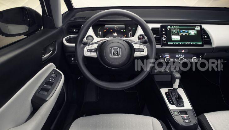 Honda Jazz 2020: la compatta giapponese è tutta nuova - Foto 2 di 7