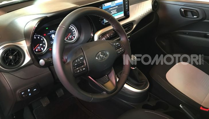 Nuova Hyundai i10 2020: la compatta coreana che pensa in grande - Foto 14 di 15