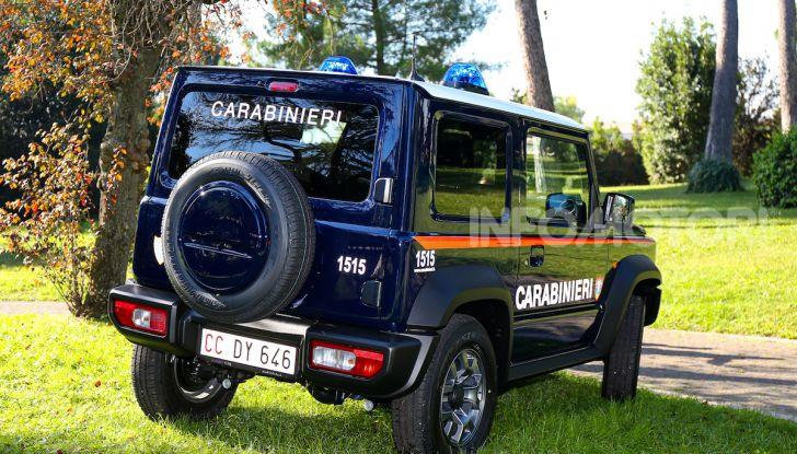 Suzuki Jimny e Ignis nuove alleate dell'Arma dei Carabinieri - Foto 10 di 12