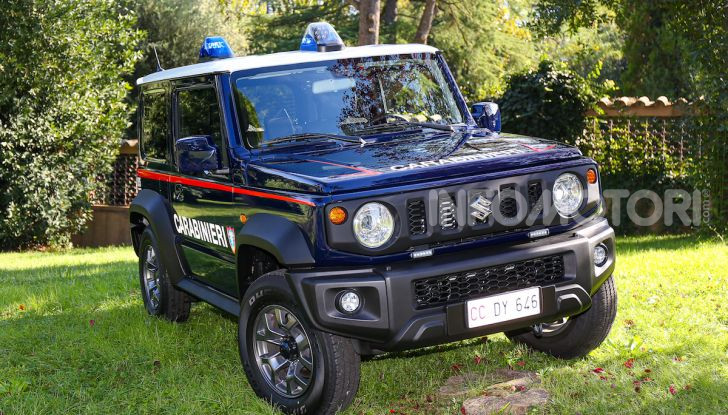 Suzuki Jimny e Ignis nuove alleate dell'Arma dei Carabinieri - Foto 12 di 12
