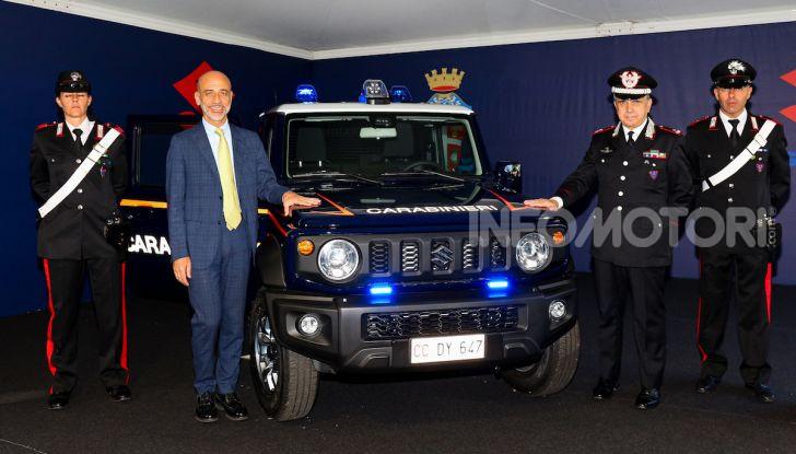 Suzuki Jimny e Ignis nuove alleate dell'Arma dei Carabinieri - Foto 5 di 12