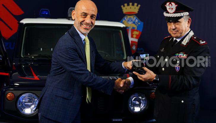 Suzuki Jimny e Ignis nuove alleate dell'Arma dei Carabinieri - Foto 6 di 12