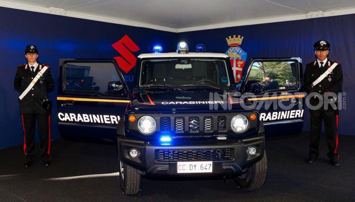 Suzuki Jimny e Ignis nuove alleate dell'Arma dei Carabinieri - Foto 8 di 12
