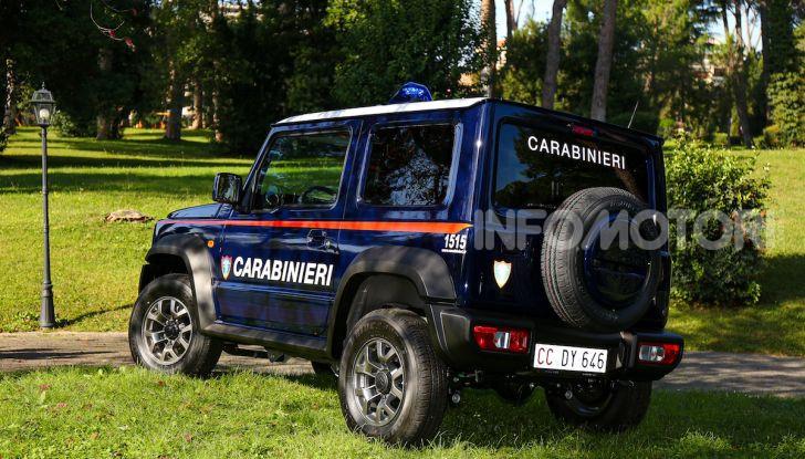 Suzuki Jimny e Ignis nuove alleate dell'Arma dei Carabinieri - Foto 9 di 12