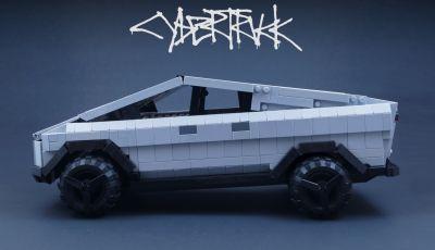Tesla Cybertruck Lego Ideas potrebbe diventare realtà
