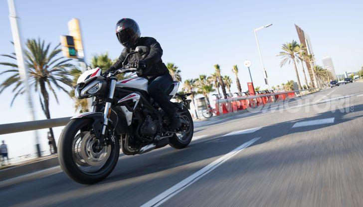 Il 2020 di Triumph si apre col lancio della nuova Street Triple S - Foto 14 di 35