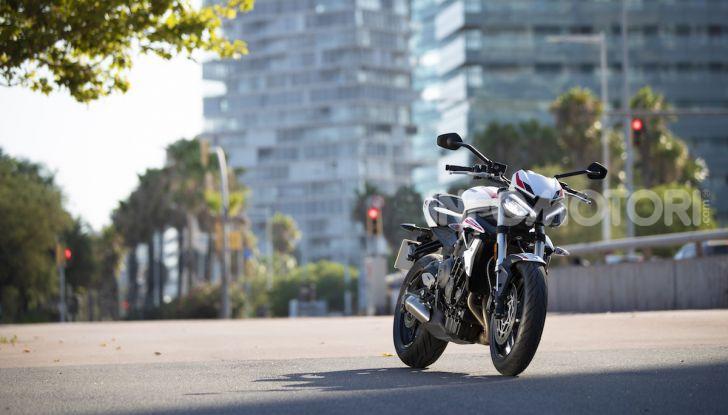 Il 2020 di Triumph si apre col lancio della nuova Street Triple S - Foto 31 di 35