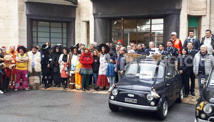Fiat 500 Ospedale Gaslini Genova