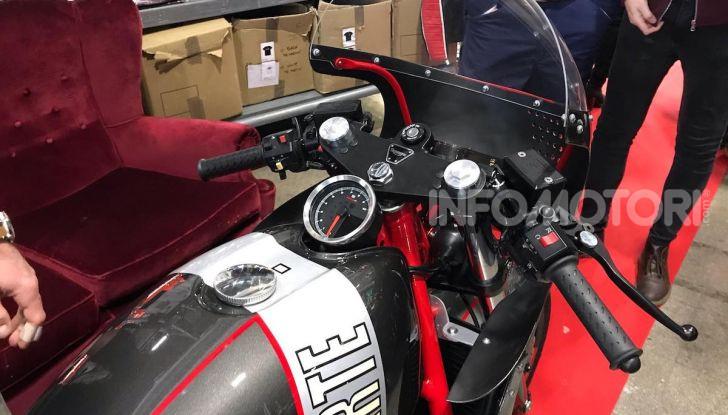 Mr. Martini incanta Motor Bike Expo con Arteria, la custom tutta cuore e passione - Foto 10 di 12