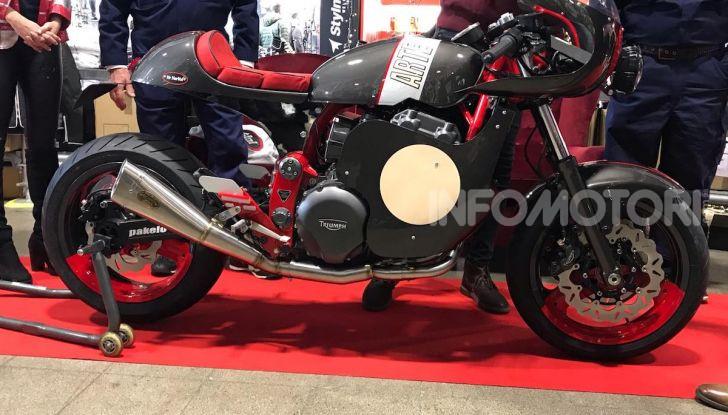 Mr. Martini incanta Motor Bike Expo con Arteria, la custom tutta cuore e passione - Foto 4 di 12