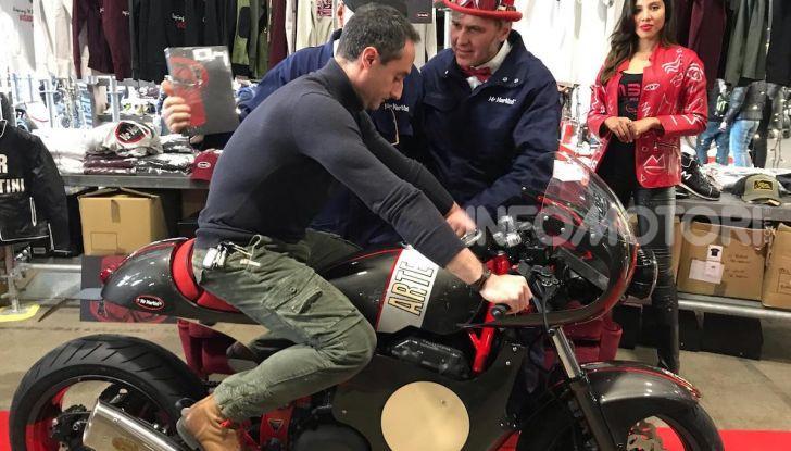 Mr. Martini incanta Motor Bike Expo con Arteria, la custom tutta cuore e passione - Foto 7 di 12