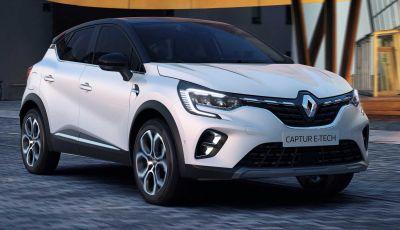 Renault Captur E-Tech: il SUV francese diventa ibrido plug-in