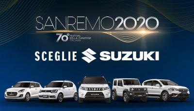 Suzuki auto ufficiale del 70° Festival Di Sanremo