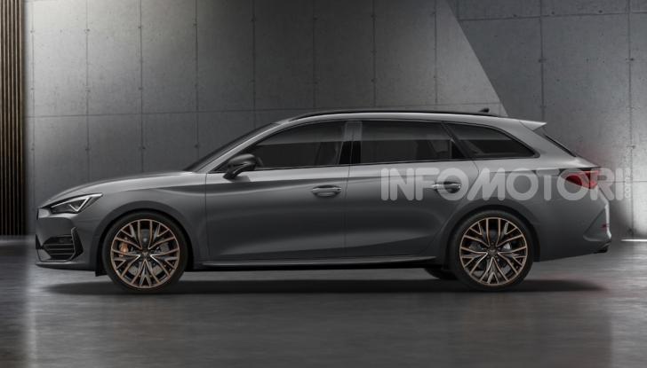 Cupra Leon 2020: look e motori da sportiva anche ibrida plug-in - Foto 1 di 11