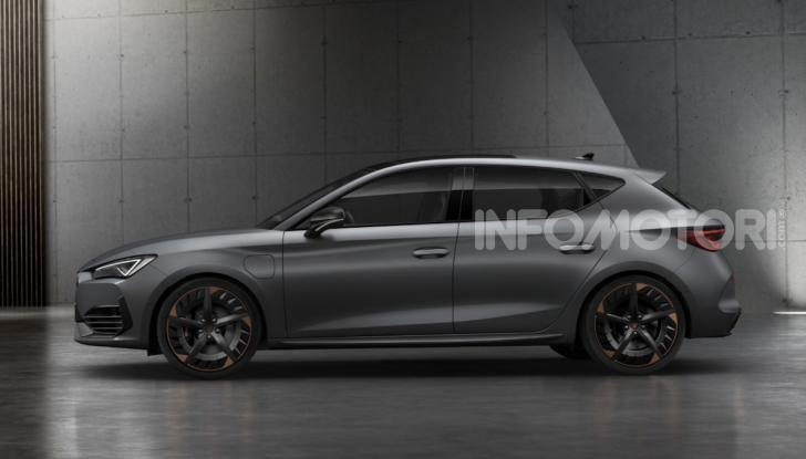 Cupra Leon 2020: look e motori da sportiva anche ibrida plug-in - Foto 10 di 11