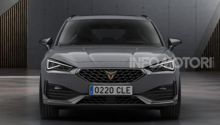 Cupra Leon 2020: look e motori da sportiva anche ibrida plug-in - Foto 2 di 11