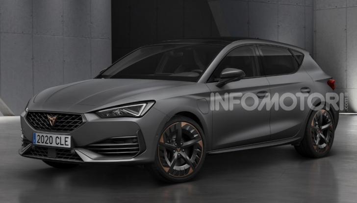 Cupra Leon 2020: look e motori da sportiva anche ibrida plug-in - Foto 7 di 11