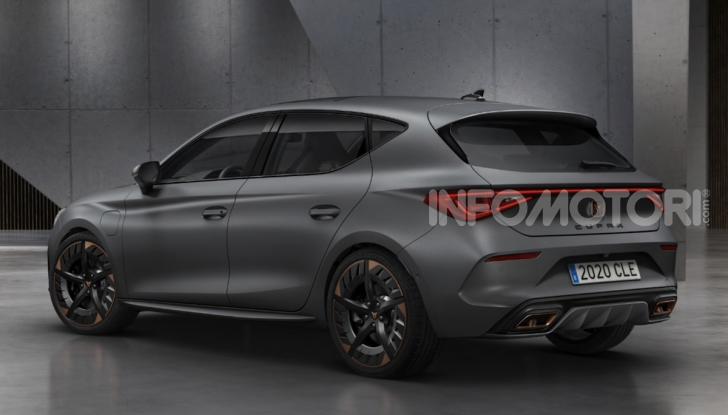 Cupra Leon 2020: look e motori da sportiva anche ibrida plug-in - Foto 8 di 11